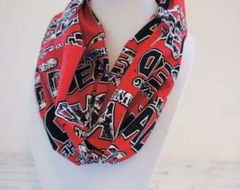 The WALKING DEAD scarf, fall scarf, gift for teen,