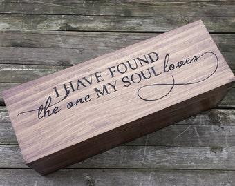 Large Wine box, Custom champagne box, champagne gift box, personalized wooden wine box, wedding wine box ceremony, anniversary gift, wedding