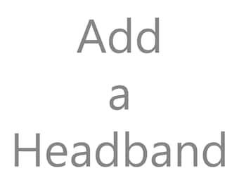 Interchangeable Elastic Headband / Elastic Headband / Mix and Match / Interchangeable / Add a Headband / Headband Add On