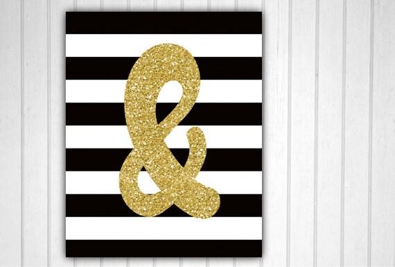Ampersand And Symbol & Symbol Ampersand Decor Wall Decor