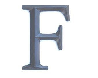 "Letter ""F"" Sign - Large Letter F Wall Decor - Gallery Wall Decor - Photo Prop - Anniversary Gift SIF70"