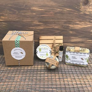 Classic Collection Gift Set+Organic Soap Gift Set+Bath And Beauty+Gift For Her+Gift For Him+Ecofriendly Gift+Unique Gift+Made In Washington