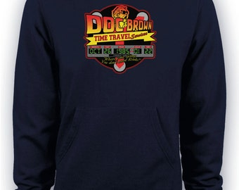 Back to the Future - Doc Brown Time Travel Services Movie Hoodie