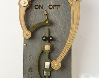 Toggle Light Switch Plate #8001A