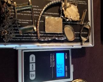 Scrap Gold Filled Jewelry & Pins- 1/5 10k, 1/10 10k, 1/20 10k 12k 14k