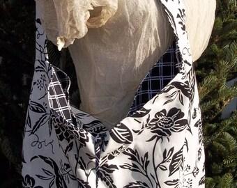 Fabulous Free-Styling Fun Floral Hobo Bag
