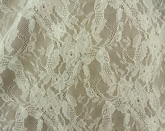 Lace of calais - very soft ivory