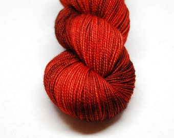 """Fingering Weight, """"The Rover"""" Merino Wool Superwash Yarn, 4 oz, machine washable yarn"""