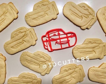 Cars 2 Lightning McQueen Cookie Cutter