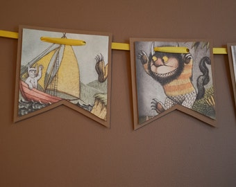 Where The Wild Things Are Party Banner