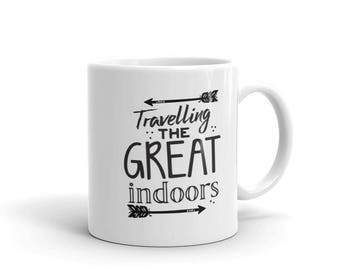 Travelling the great indoors Mug
