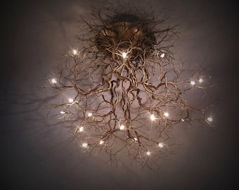 "ROOTS Collection  ""Roots"" Large Ceiling Light"