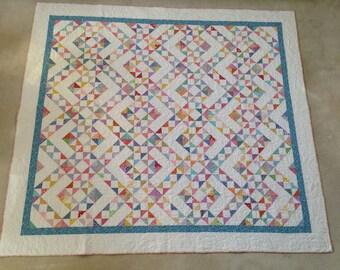 Homemade Queen Size Patchwork Quilt