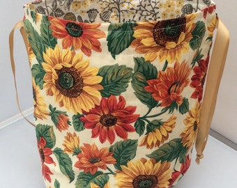 Sunflower-mix - drawstring projectbag