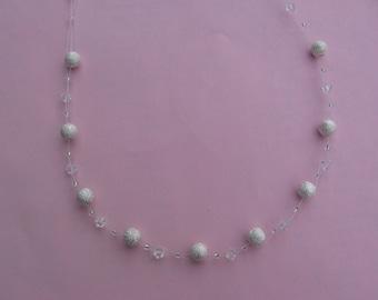 Swarovski Crystal and Stardust Necklace
