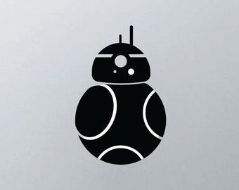 Star Wars inspired BB8 MacBook Decal