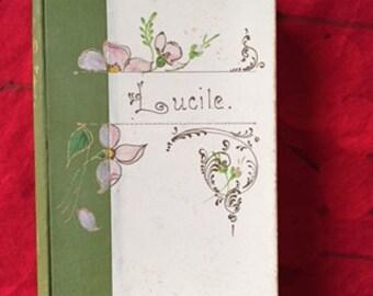 Lucile by Owen Meredeth (1892)