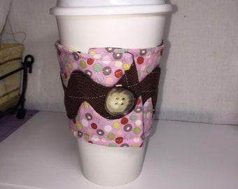 Ric rac coffee cozy