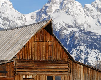Moulton Barn, Teton National Park