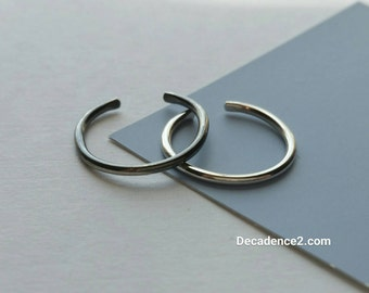 Sterling Silver Toe Ring- Plain Round