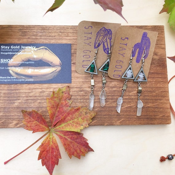 Pretty in Peaks Earrings