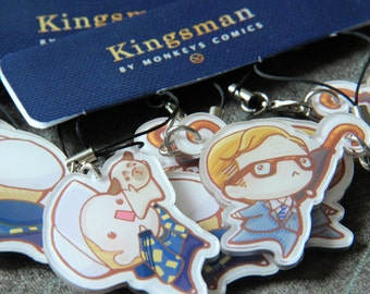 Kingsman Harry & Eggsy Charms Set