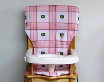 chair cushion eddie bauer high chair cover or jenny lind chair pad, baby feeding chair, farm supply baby accessory kids and baby furniture