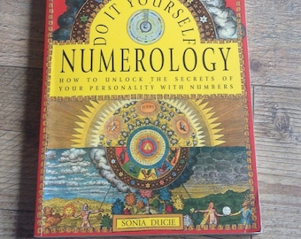 Do it Yourself Numerology Book, Numerology Book, Personality Book