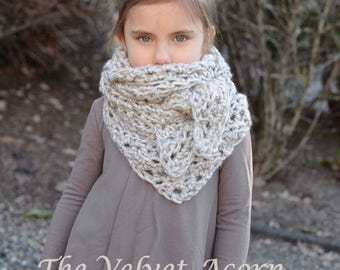 CROCHET PATTERN-The Doven Shawl (Small, Medium and Large)