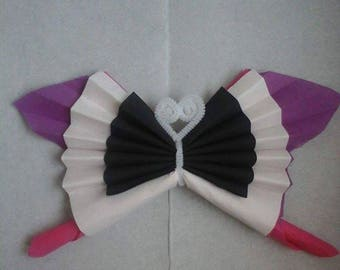 Folding towels Butterfly 4 colors