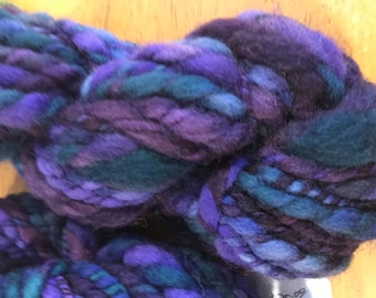 Wild Iris Handspun thick n thin yarn 2oz