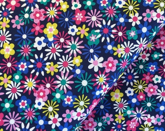 Midnight Flowers from the Flowers A Plenty Collection by Michael Miller Fabrics