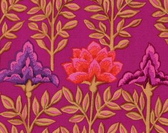Kaffe Fassett for Rowan Westminster Fibers - Mughal - Magenta - 1/2 Yard Cotton Quilt Fabric 1016