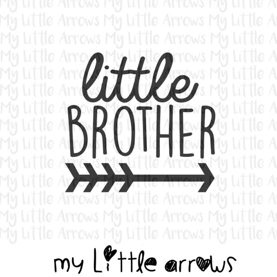 Download Little brother arrow SVG DXF EPS png Files for Cutting