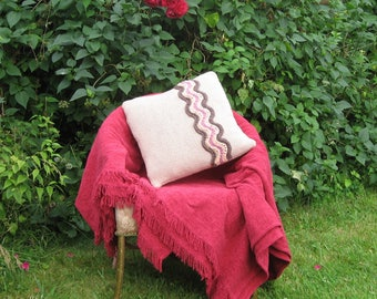 """Knitted Cushion Cover - """"Naughty Knickers"""""""