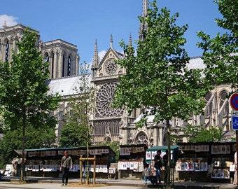 Paris France Artist's Row Notre Dame, Paris Photography, Paris Art, Paris Decor, Paris Print, street artists