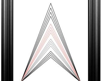 Printable Minimalist Geometric Wall Art