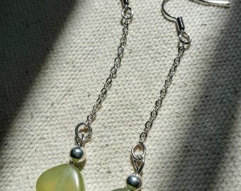 New Jade Dangle Earrings