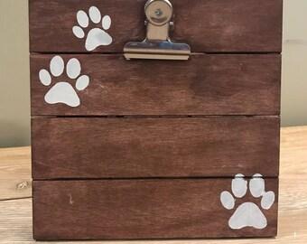 Paws Clip Board