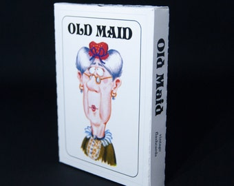 Old Maid Playing Cards | Vintage 1972 Style | BRAND NEW