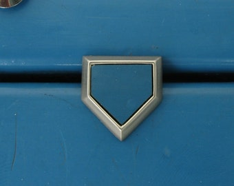 "Groomsman gifts Yankee Stadium  ""HOME PLATE"" seat wood Lapel Pin Trading Pin Ruth Mantle Gehrig Wedding gifts"