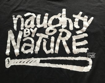 90s vintage hip hop Naughty by Nature t shirt