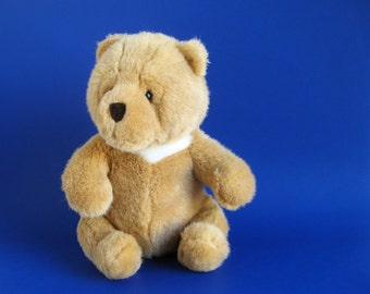 Vintage Gund Teddy Bear Collector's Classic Stuffed Animal 1990s Toys Kids Toy Light Brown