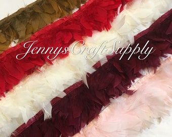 1 yard of feather