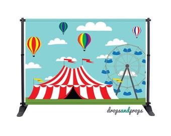 Circus - Photography Backdrop
