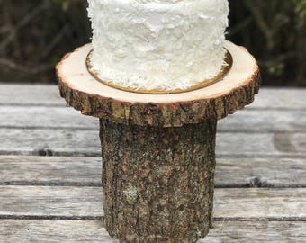Mini small Willow Cake Cupcake (6-7 in) Stand Wedding party shower wooden photo prop