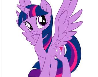 My little pony svg/unicorn svg/my little pony cutting file/my little pony purple svg