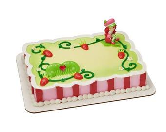 Strawberry Shortcake Sweet Celebrations Cake Topper
