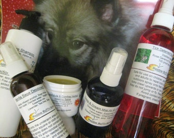 Dog Care Assortment, Holistic Pet Care, Animal Lover Gift Idea