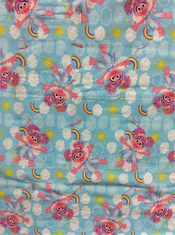 Abby Cadabby Baby Comforter Pink Blue Rainbow Super Soft Baby Blanket